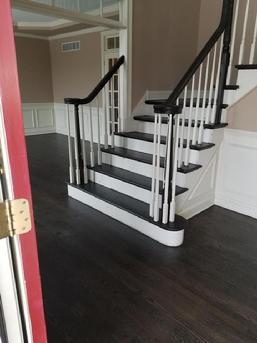 Bucks County Hardwood Floor Installation Refinishing Stairwork