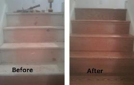 Warrington Stair Refacing