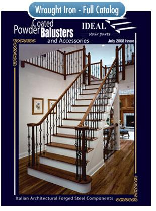 Square Newel Posts Bucks County Wrought Iron Spindles
