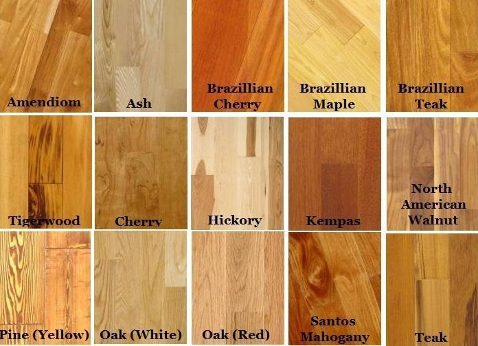 Types Of Floor Coverings Wood Floor Hardwood Flooring Types